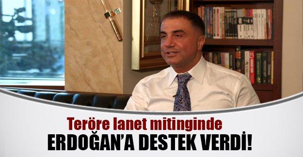 Sedat Peker'den Erdoğan'a destek!
