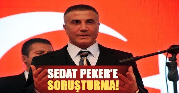 """Sedat Peker'e soruşturma şoku! Ünlü kabadayının """"teröre lanet"""" mitinginde söylediği sözler savcılık oldu"""