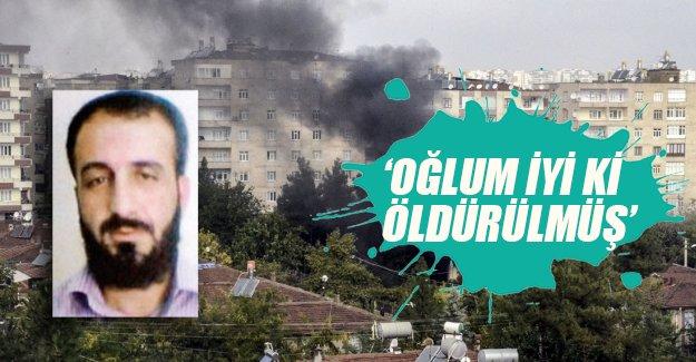 Teröristin babası: Oğlum iyi ki öldürülmüş! Flaş açıklamalar...