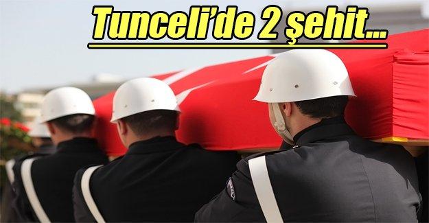 Tunceli'de 2 asker şehit düştü!