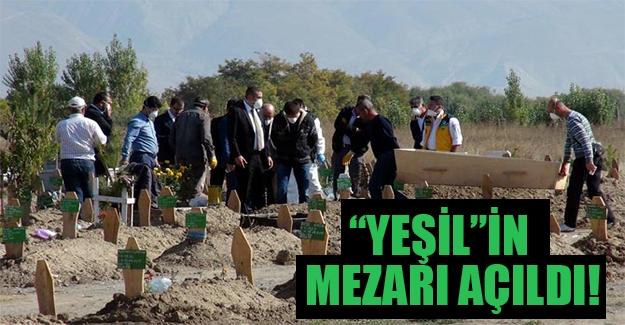 """""""Yeşil"""" olduğu iddia edilen Mahmut Özer'in mezarı açıldı!"""