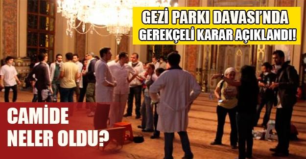 255 sanıklı Gezi Parkı Davası'nda gerekçeli karar açıklandı