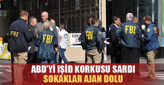 ABD'de IŞİD korkusu ! Güvenlik güçleri teyakkuzda