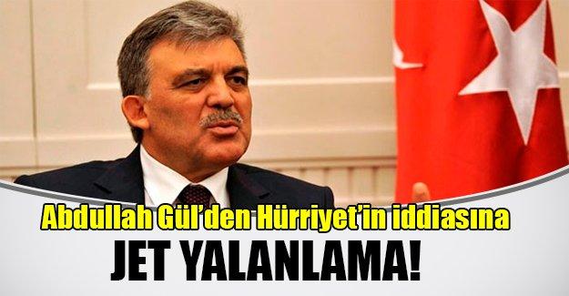 Abdullah Gül'den Hürriyet'e jet yalanlama! Gül o ziyareti daha önce iptal ettiğini ifade etti