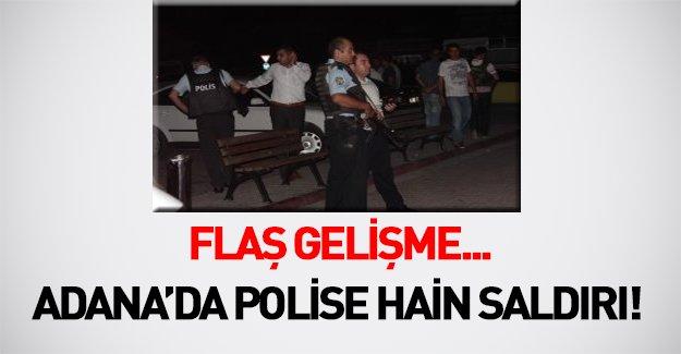 Adana'da hain saldırı! Polis merkezine bombalı araçla saldırdılar