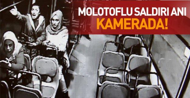 Adana'da PKK'lılar yolculu otobüse ateş açıp molotof attı! VİDEO İZLE