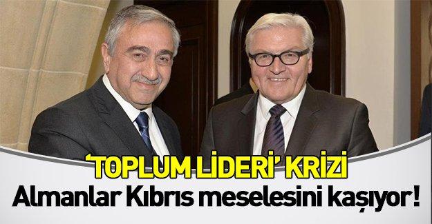 Almanya Dışişleri Bakanı Kıbrıs meselesini kaşıyor! KKTC Cumhurbaşkanı için skandal ifadeler kullandı