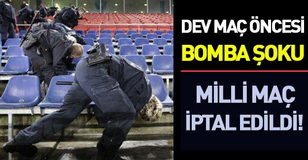 Almanya-Hollanda maçı öncesi bomba şoku: Maç iptal edildi!