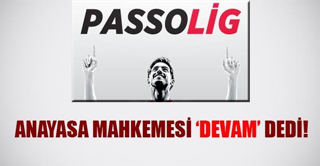 """Anayasa Mahkemesi """"Passolig"""" için devam kararı aldı"""