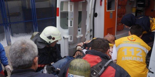 Ankara'da patlama; 5 yaralı!