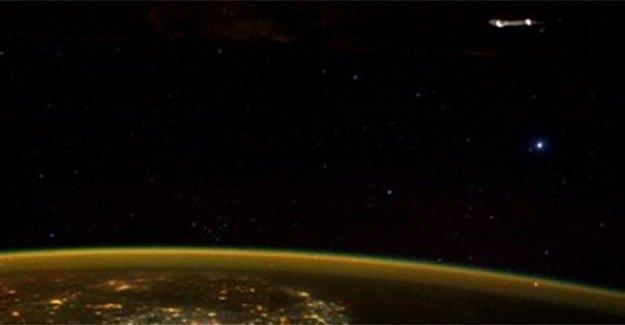 Astronotun paylaştığı kare dünya gündemine oturdu!