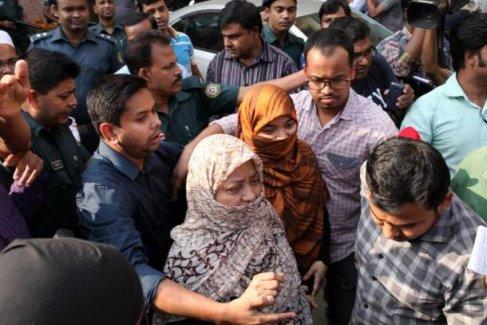 Bangladeş'te idam Öncesi Son Ziyaret