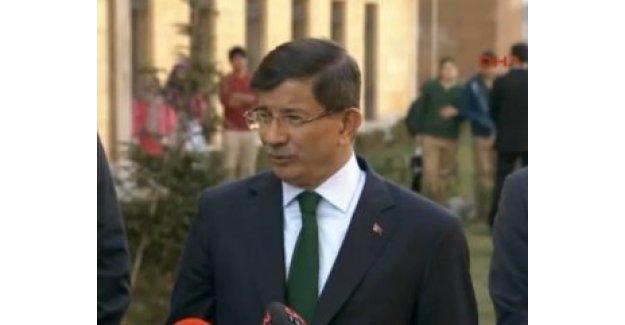 Başbakan Davutoğlu'ndan Mali açıklaması