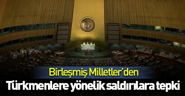 BM'den Türkmenlere yönelik saldırılara tepki!