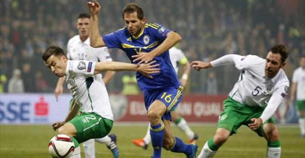 Bosna Hersek elendi! İrlanda Cumhuriyeti Euro 2016'da...