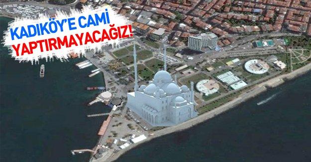 CHP Kadıköy Belediye Başkanı Aykurt Nuhoğlu cami inşasına karşı çıktı