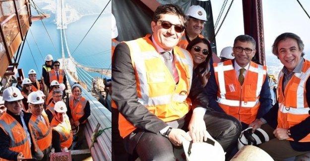CHP'li Başkan'dan 3. Köprü selfiesi