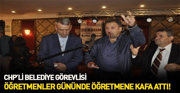 CHP'li belediyenin düzenlediği baloda öğretmene dayak
