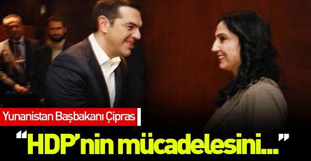 Çipras HDP'li Yüksekdağ ile görüştü!