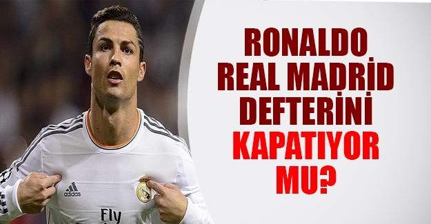 Cristiano Ronaldo için ayrılık vakti!