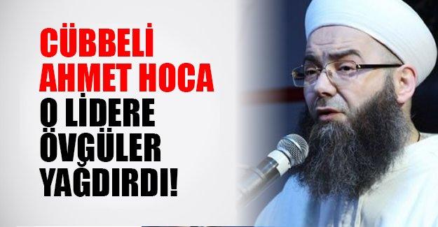 Cübbeli Ahmet Hoca Ahmet Davutoğlu'na övgüler yağdırdı