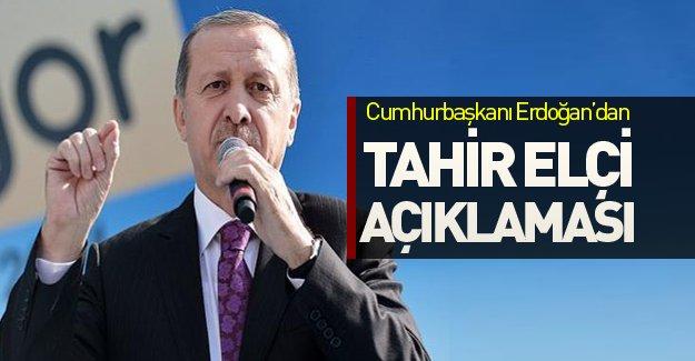 Cumhurbaşkanı Erdoğan Tahir Elçi'nin öldürülmesini değerlendirdi