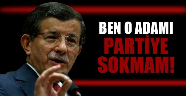 Davutoğlu'ndan milletvekillerine sert uyarı!