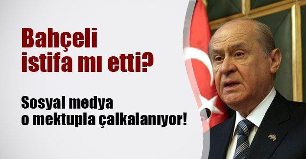 Devlet Bahçeli istifa mı etti? İşte sosyal medyada dolanan MHP liderinin istifa mektubu