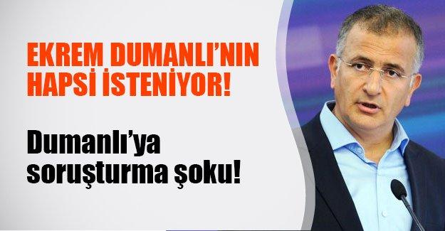 Ekrem Dumanlı'ya hapis şoku! Dumanlı hakkında iddianame hazırlandı