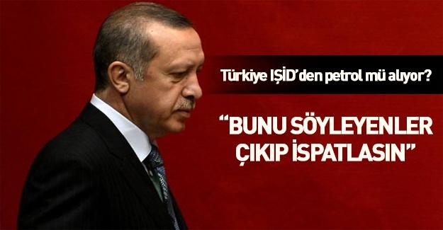 Erdoğan'dan Putin'e: Türkiye'nin DAEŞ'ten petrol alıyor diyenler ispatlasın!