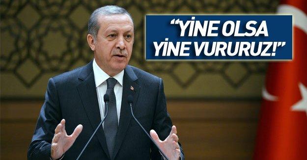 Erdoğan'dan Rus uçağı açıklaması: Bir daha olsa yine aynısını yaparız!