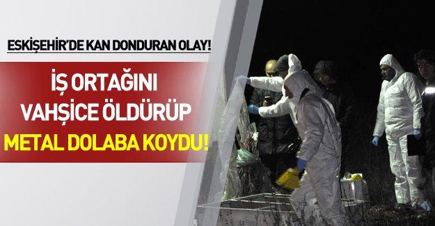 Eskişehir'de kan donduran cinayet!