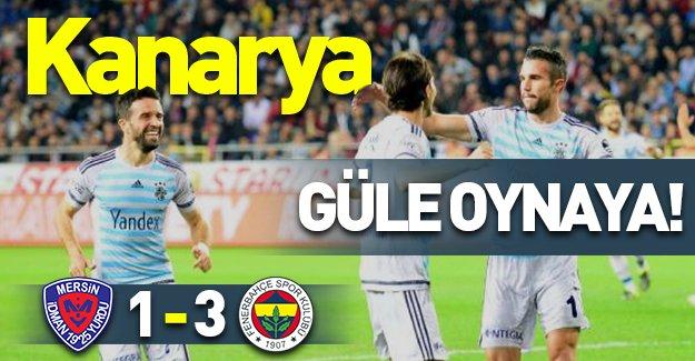 F.Bahçe deplasmanda 3 puanın sahibi oldu! (Mersin İ.Y 1-3 Fenerbahçe) Maç özeti izle!
