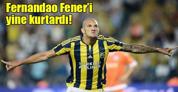 Fenerbahçe Galatasaray'ın yenildiği haftada 3 puanı aldı! ÖZET