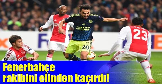 Fenerbahçe tatsız tuzsuz! Ajax: 0 Fenerbahçe: 0