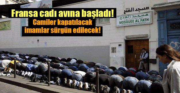 Fransa cadı avına başladı: Camiler kapatılacak, imamlar sürgün edilecek