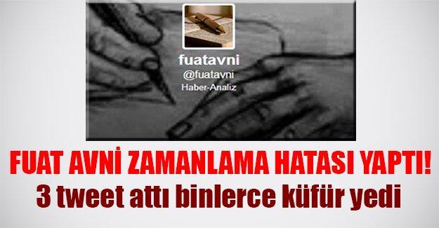 Fuat Avni bu kez faka bastı! Zamanlama hatası yapan twitter fenomeni takipçileri tarafından küfür yedi