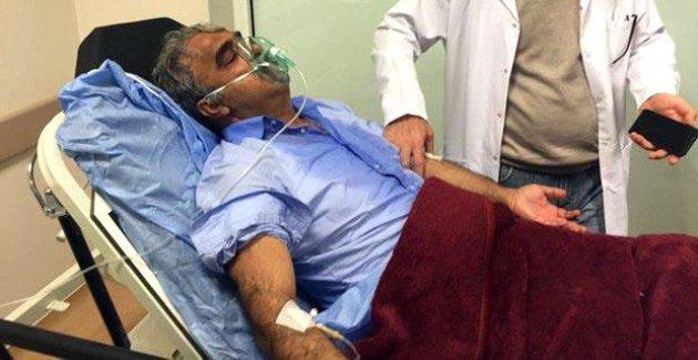 Gazdan etkilenen HDP'li Sancar hastanelik oldu