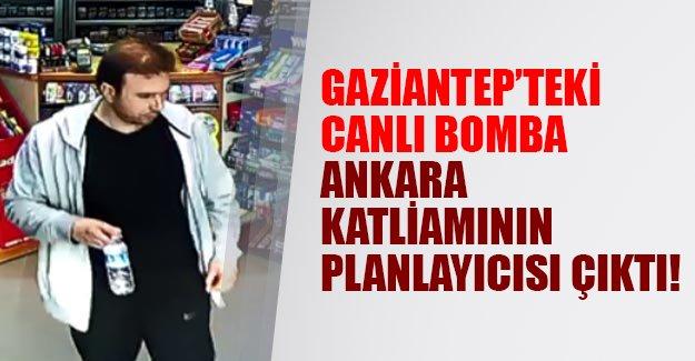 Gaziantep'te kendini patlatan canlı bomba Ankara katliamının planlayıcısı çıktı!