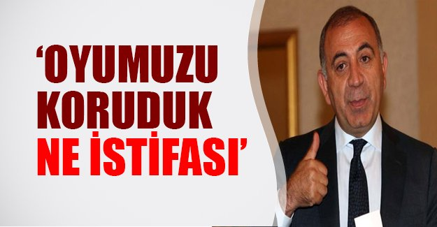 Gürsel Tekin: CHP oyunu korudu, ne istifası!