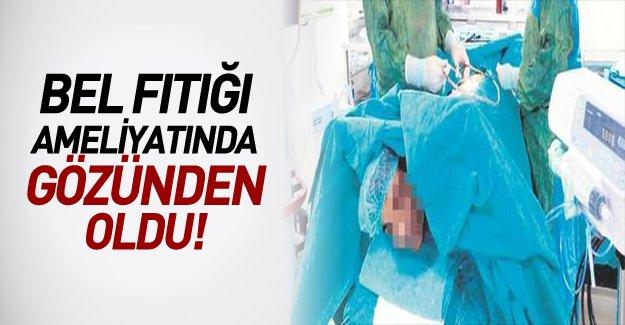 Hastanede skandal! Fıtık Ameliyatı Kör Etti!