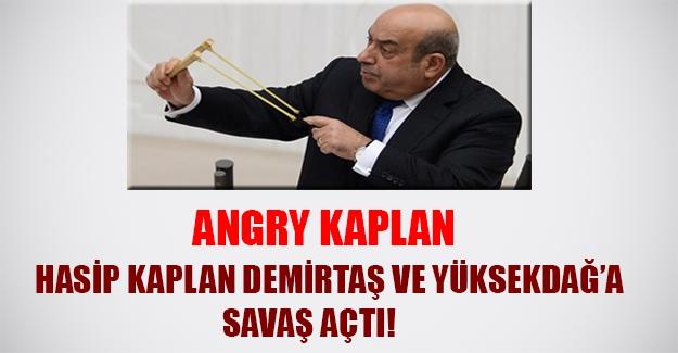 HDP'de kazan kaynıyor! Hasip Kaplan'dan Demirtaş ve Yüksekdağ'a istifa sinyali...
