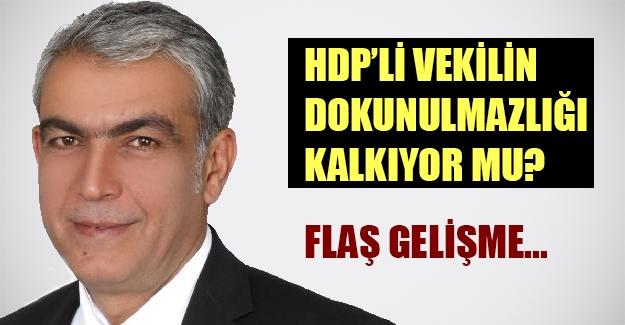 HDP'li vekilin dokunulmazlığı kalkıyor mu? İbrahim Ayhan hakkında fezleke hazırlandı