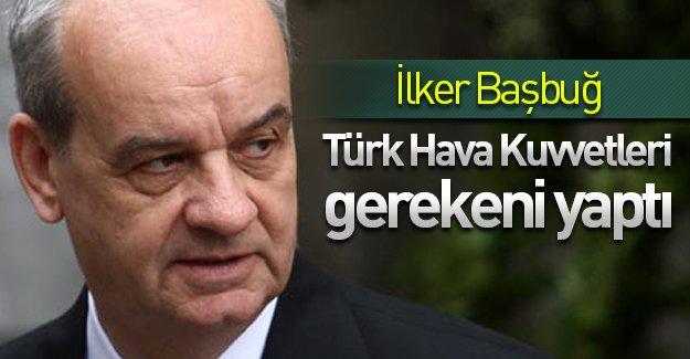 İlker Başbuğ'dan ''Uçak krizi'' açıklaması: ''Türk Hava Kuvvetleri gerekeni yaptı!''