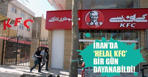 """İran'da """"Helal KFC"""" bir günde kapatıldı! Şirket sahibi Türk markası olduklarını iddia etti..."""