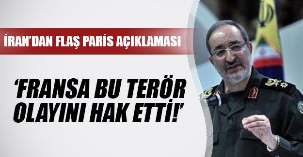 İran'dan Fransa'daki terör olaylarıyla ilgili flaş açıklama: 'Hak ettiler!'
