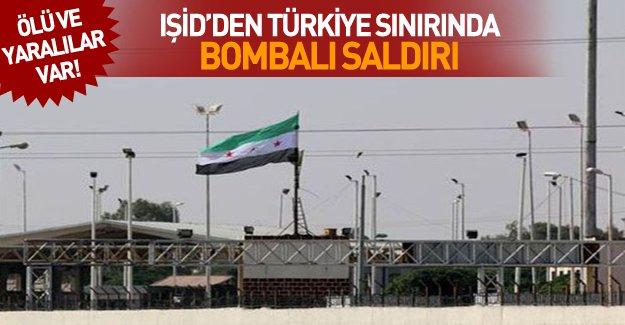 IŞİD Türkiye sınırında canlı bomba saldırısı düzenledi! Yaralılar var...