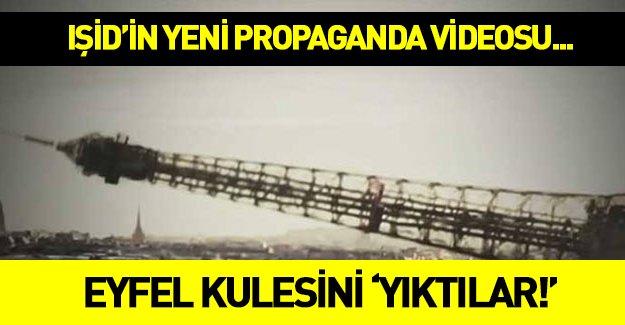 IŞİD Eyfel kulesini bakın nasıl yıktı? İZLE