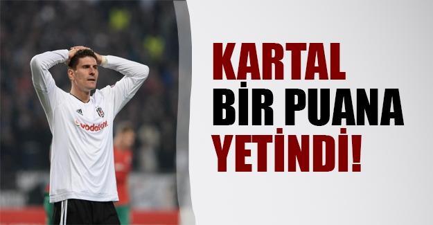 Kartal 1 puana yetinmek zorunda kaldı: Beşiktaş - Lokomotiv Moskova: 1 - 1