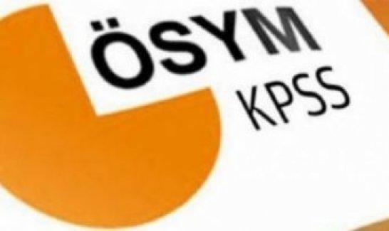 KPSS tercih kılavuzu 2015 ÖSYM flaş değişiklik